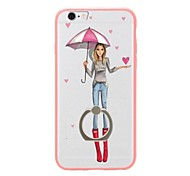 For iPhone 7 7 Plus Case Cover Fashion Show Pattern Soft TPU Back Cover Case with Ring Holder for iPhone 6 6s Plus 5S 5 SE