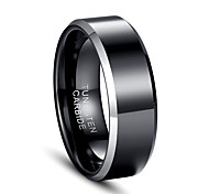 Men's Ring Jewelry European Tungsten Steel Jewelry For Party