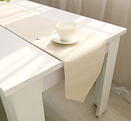 Rectangular Solid Table Runner , Cotton Blend Material Hotel Dining Table / Table Decoration