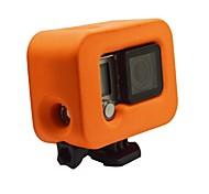 Accessories For GoPro Waterproof Housing Waterproof / Dust Proof, For-Action Camera,Gopro Hero 3 / Gopro Hero 3+ / Gopro Hero 4 Silver /