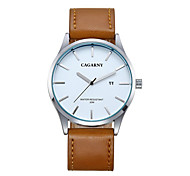 CAGARNY Men Watch/Fashion Watch /Large Dial Watch /Japan Quartz Calendar / Cool /Casual Watch/ Business