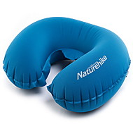 Portable U Shape Inflatable Pillow Sleeping Gear Travel Inflatable Cushion Soft Neck Protective HeadRest Plane Pillow