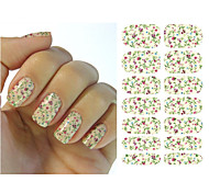 1pcs Floral Water Transfer Nail Sticker