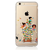 Book Pattern TPU Soft Case Cover for Apple iPhone 7 7 Plus iPhone 6 6 Plus iPhone 5 SE 5C iPhone 4
