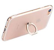 Для Кольца-держатели / Прозрачный Кейс для Задняя крышка Кейс для Один цвет Мягкий TPU AppleiPhone 7 Plus / iPhone 7 / iPhone 6s Plus/6