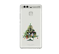 For Huawei P9 P9 Lite  P8 P8lite Pattern Case Back Cover Christmas Tree Soft TPU for P9 Plus P9 Mini Max P7 Honor 6 Honor 6 Plus Honor 4C