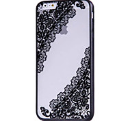 For Apple iPhone 7 7Plus 6S 6Plus Case Cover Retro Hollow Ultra-Thin Embossed High Heels Pattern PC Material  Hard Phone Case
