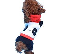 Dog Outfits Dog Clothes Keep Warm Cartoon White