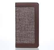 for Sony Sony Xperia X Performance / Sony Xperia X / Sony Xperia XA Case Cover Linen Mobile Phone Holster