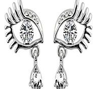 Stud Earrings Rhinestone Alloy Simulated Diamond Statement Jewelry Jewelry Daily 1pc