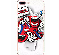 For Apple iPhone  7 7Plus 6S 6Plus Case Cover Football Kid Pattern HD TPU Phone Shell Material Phone Case
