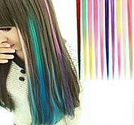долго синтетического прямо и клип в наращивание волос с 1 клипов цвет 10 доступных