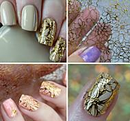 1 Стикер искусства ногтя 3D наклейки на ногти макияж Косметические Nail Art Design