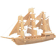 Jigsaw Puzzles Wooden Puzzles Building Blocks DIY Toys Atlantic Sailing 1 Wood Ivory Model & Building Toy