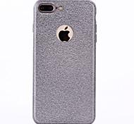 Для Покрытие Кейс для Задняя крышка Кейс для Один цвет Мягкий TPU для Apple iPhone 7 Plus iPhone 7 iPhone 6s Plus/6 Plus iPhone 6s/6