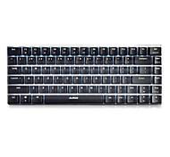 Механическая клавиатура Игровые клавиатуры USB Черная ось Ajiazz 极客AK33