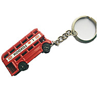 Key Chain Car Key Chain Red Metal