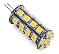 Dimmable 5050 SMD G4 LED Corn Bulb Lamp 30 LEDs 4W for Indoor Car Cabinet Boat Warm/Cool White (1 Piece)