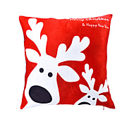1 pcs Velvet Pillow With Insert Christmas Decorative 18x18 inch