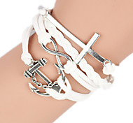 Women's Bangles Alloy Fashion Handmade Cross Jewelry 1pc