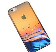 Für iPhone 6 Hülle / iPhone 6 Plus Hülle Muster Hülle Rückseitenabdeckung Hülle Landschaft Weich SilikoniPhone 7 plus / iPhone 7 / iPhone