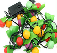 Fruit Seven Lights The Christmas Tree Decoration Meters Lamp Festive Wedding Scene Chandeliers Random Color