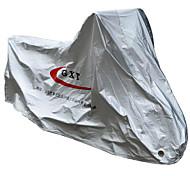 la lluvia prenda impermeable a prueba de polvo cubierta eléctrica incremento cubierta de la motocicleta se alargó