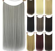 Extensions de cheveux humains Synthetic 80G 60CM Extension des cheveux