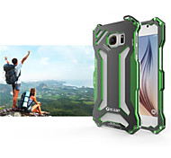 For Samsung Galaxy Case Shockproof Case Back Cover Case Armor Metal Samsung S6 edge / S6