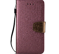 For Xperia XA X XP Case Cover Classic Silk Grain Two-Color Card Stent PU Leather Material All-inclusive Phone Case