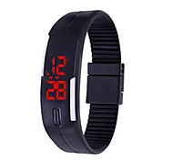 LED Electronic Bracelet Watches Outdoor Sports Waterproof Silicone Mini-Watches