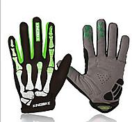 Gloves Sports Gloves Unisex Cycling Gloves Spring Autumn/Fall Winter Bike Gloves Shockproof Breathable Wearable Full-finger Gloves Lycra
