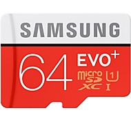 SAMSUNG MicroSD Memory Card 64G SDHC EVO Class 10 Micro SD C10 UHS TF