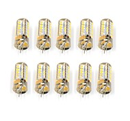 10 Pcs Con filo Others G4 48Led Smd2835 5W AC DC12V 950Lm Warm White Cold White Double Pin Waterproof Lamp Other