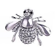 Forma da mulher broche de liga de abelha