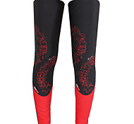 Leg Warmers/Knee Warmers Bike Thermal / Warm Protective Comfortable Unisex Red LYCRA®