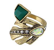 Ringe Normal Schmuck Aleación Damen Ring 1 Stück,7 Goldfarben