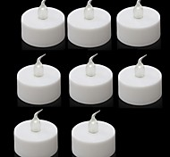 8PCS LED Battery Operated Tea Lights for Wedding Party