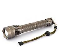 Iluminação Lanternas LED LED 2000 Lumens 3 Modo LED 26650 Foco Ajustável Prova-de-Água Tamanho Compacto Super LeveCampismo / Escursão /