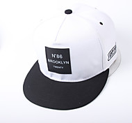 Cap/Beanie / Hat Protective / Comfortable / Sunscreen Unisex Leisure Sports / Baseball Spring / Summer / Fall/Autumn / Winter White