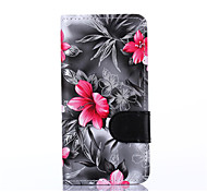 For Samsung Grand Prime Alpha G530H G850F Case Cover Flowers PU Leather Mobile Phone Holster