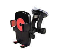 Suportes para Celular Carro Para-Brisa Suporte Ajustável Plástico for Celular