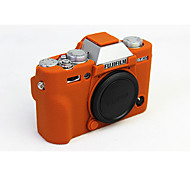 Dengpin Soft Silicone Armor Skin Rubber Camera Cover Case Bag for Fujifilm X-T10 XT10 (Assorted Colors)