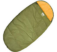 Sleeping Bag Rectangular Bag Single 10 Hollow Cotton 300g 230X100 Camping Traveling IndoorWaterproof Rain-Proof Windproof Well-ventilated
