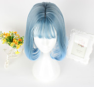 Sweet Lolita Lolita Short Blue Lolita Wig CM Cosplay Wigs Wig For Women