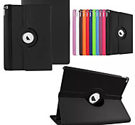360 Degree Rotating Stand PU Leather Auto Sleep and Wake Up Case Cover for iPad Pro
