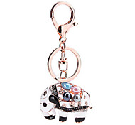 Key Chain Elephant Key Chain Ivory Metal
