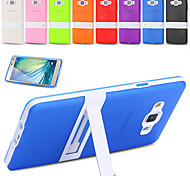 For Samsung Galaxy Case Shockproof / with Stand / Frosted / Translucent Case Back Cover Case Armor TPU Samsung A7