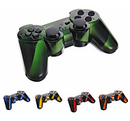 Wireless Bluetooth DualShock3 Sixaxis Controller Joypad recargable para PS3