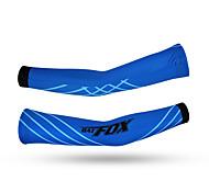 Arm Warmers Bike Thermal / Warm Protective Ultra Light Fabric Comfortable Unisex Blue Terylene